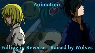 "Falling in Reverse - Raised by Wolves - Bloody Paniter - ANIMATION - ""Creepy Argen"""