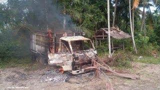 Nasib Pencuri Sapi, Mobil Dibakar dan Babak Belur Dihakimi Massa