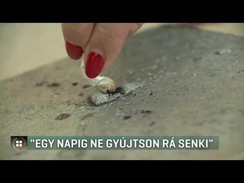 Rágja le a dohányzást