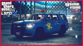 GTA 5 LSPDFR #123 - Michigan State Police Tahoe (NVE - LSPDFR 0.4.7)