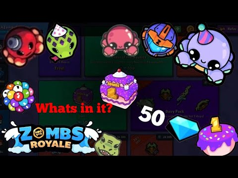 Zombs Royale - Whats in the 1 Year Zombs Royale Chest
