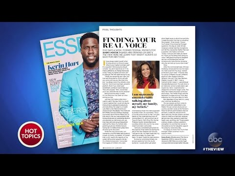 Sunny Hostin in June's 'Essence' Magazine | The View