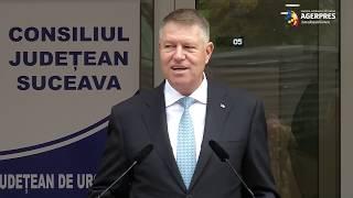 Iohannis: Ambulatoriul Spitalului de Urgenţă din Suceava - o realizare frumoasă; PSD a oferit doar fantasmagorii