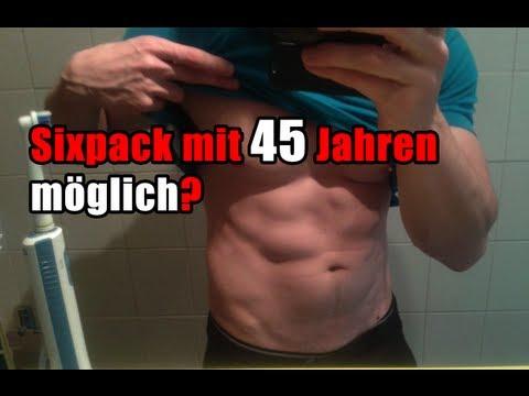 Sixpack ab 40 möglich? 3 Bauch weg Tipps für Männer-Bauchmuskeln
