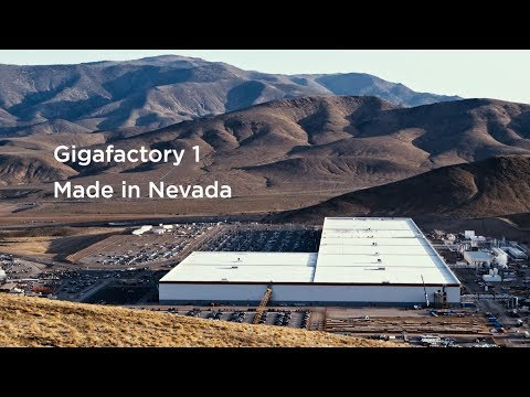 Gigafactory 1 | The Highest Volume Battery Plant in the World
