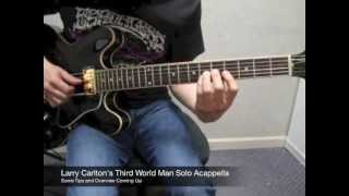 Larry Carlton's Third World Man GUITAR SOLO tutorial