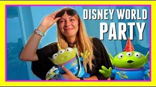 GIRL CRIES OVER SURPRISE TOY STORY ALIEN POPCORN BUCKET!! | Disney World Vlog