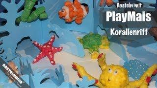 Basteln mit PlayMais - Unterwasserlandschaft / Korallenriff / World sea