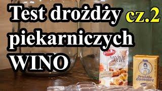 Test drożdży piekarskich, piekarniczych a ZACIER, NASTAW - fermentacja alkoholowa :) Cz. 2