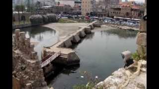 preview picture of video 'Saida (Sidon) - Lebanon.avi'