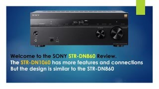 SONY STR DN860 review and tutorial v1