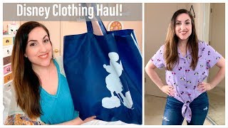 Disney Clothing Haul! ShopDisney And Hot Topic