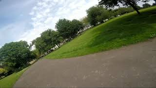 Flight in a beautiful park in England | FPV