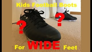 Wide Fitting Football Boots for Kids with Wider Feet | Nike Tiempo Ligera IV unboxing / reveal