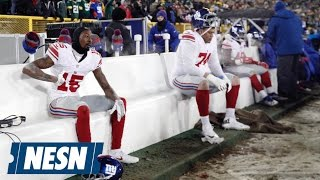Giants Defensive Backs Were Invited To Receivers