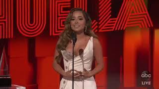 Becky G Wins Favorite Female Artist - AMAs 2020