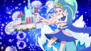 Minami Kaido  - (Go! Princess PreCure) - Go! Princess Precure - Cure Mermaid Coral Maelstrom Scene