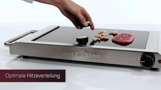 Электрогриль Profi Cook PC-TG 1017 380х285 мм Германия от компании PolyMarket - видео
