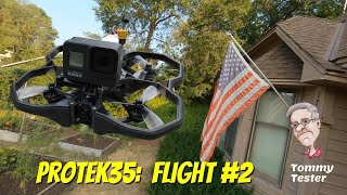 FPV Cinewhoop   iFlight Protek35   Flight #2   Minnesota