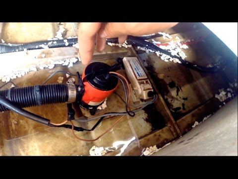 Positioning A Bilge Pump And Float Switch In A Boat Mp3