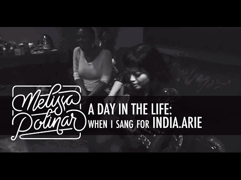 A Day In The Life: When I sang for India.Arie