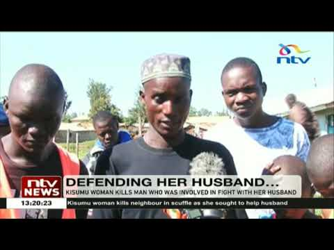 Kisumu woman kills man who has involved in fight with her husband