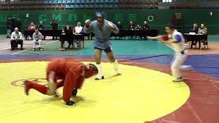 Лучшие моменты боевого самбо на чемпионате Хабаровского края