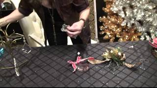 Donna Moss HGTV Donna Decorates Dallas How-to Christmas Decorating Ideas
