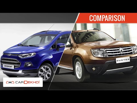 Ford Ecosport Vs Renault Duster | Comparison Review | CarDekho.com