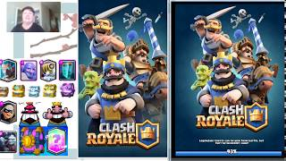 """Clash Royale. Playing with """"u will lose"""" Good game!!! Well Played!"""