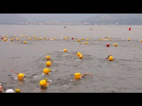 La traversata a nuoto da Laveno a Cerro