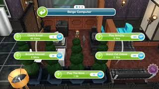 Have 4 Sims Playing Simcity - Weekly Task - Sims Freeplay