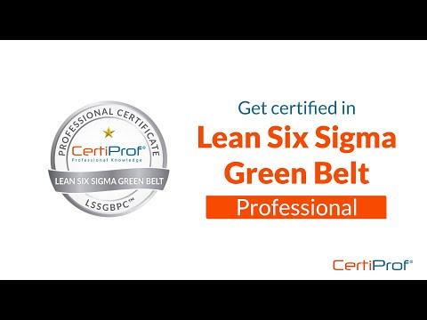 Lean Six Sigma Green Belt Certification - CertiProf® LSSGBPC ...