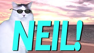 HAPPY BIRTHDAY NEIL! - EPIC CAT Happy Birthday Song