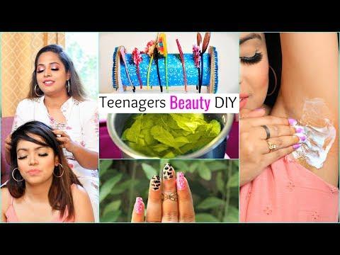 6 BEAUTY Essentials DIY for TEENAGERS ..   #Haircare #Skin #ShrutiArjunAnand #Anaysa #DIYQueen