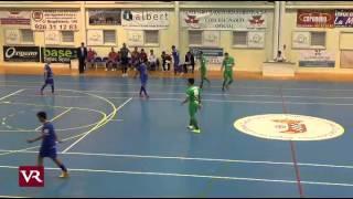 preview picture of video 'FS: Copa del Rey · 1ª Parte Valdepeñas - Magna Navarra'