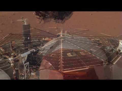 NASA's InSight Enjoys a Cool Breeze on Mars