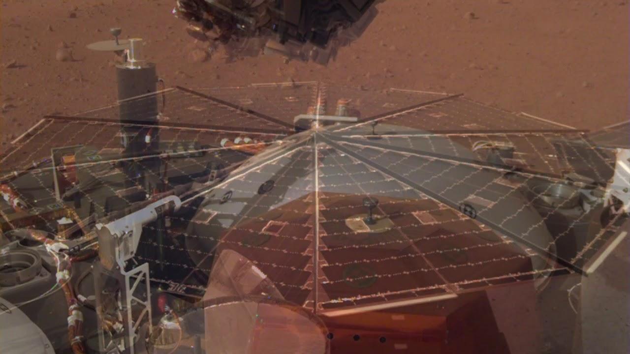 Марсианский ветер. NASA впервые в истории записало шум ветра на Марсе