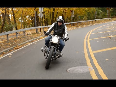 BMW R100 Cafe Racer Motorcycle Story