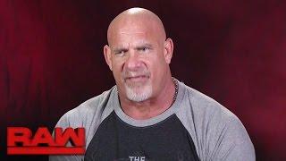 Goldberg gets brutally honest about Brock Lesnar: Raw, Nov. 7, 2016