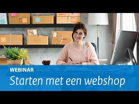 Webinar: Starten met een webshop