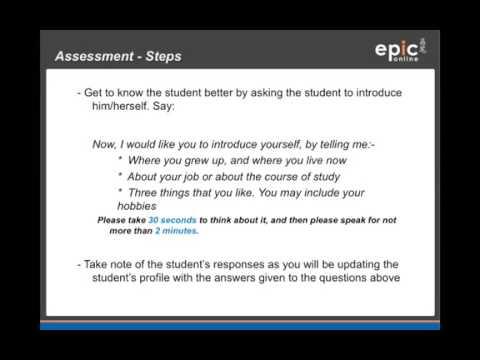 EPiC Online - Assessment Certification - YouTube