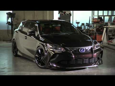 Five Axis Project Lexus CT 200h
