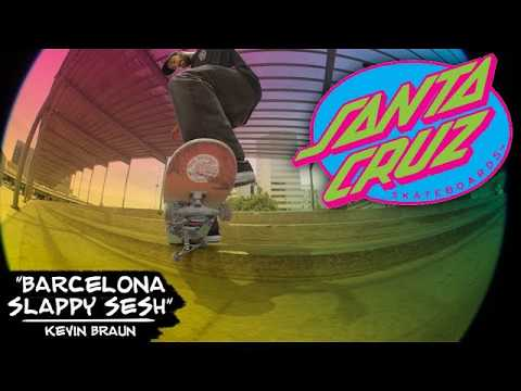 Kevin Braun Heats Up For The Barcelona Streets with some slappy madness!