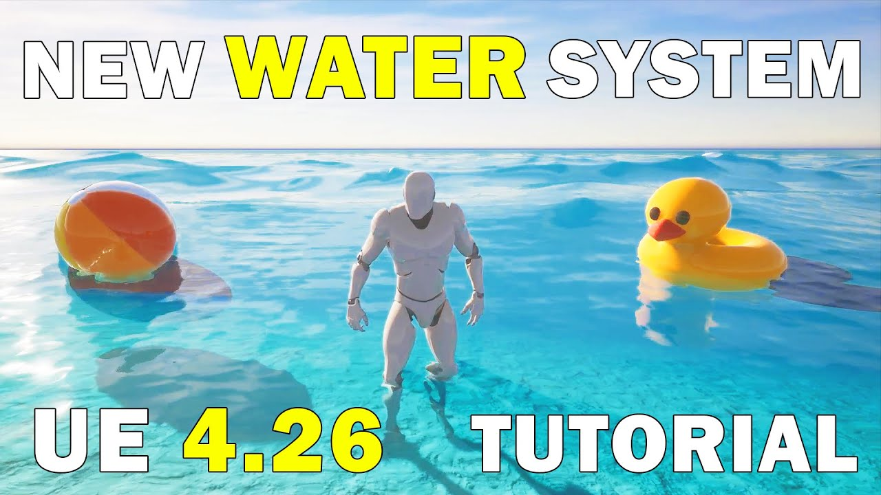Unreal Engine 4.26 Water Tutorial | Create Oceans, Rivers and Lakes