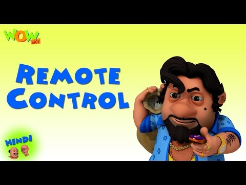 Remote Contol - Motu Patlu in Hindi - 3D Animation Cartoon for Kids -As on Nickelodeon