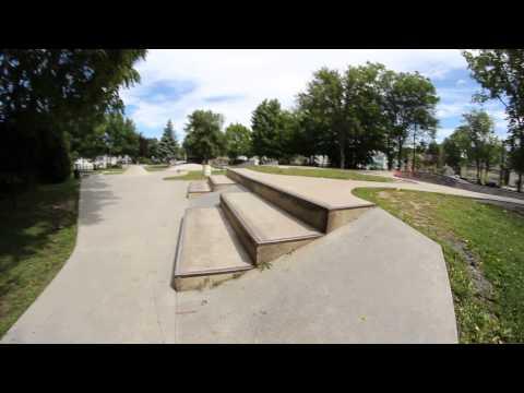 Skateboard Tour: Hudson Skatepark