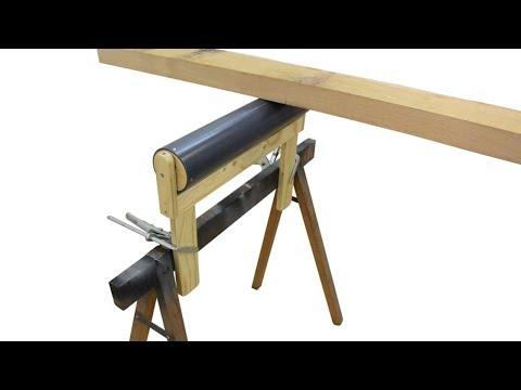 Rollbockaufsätze für Sägeböcke bauen