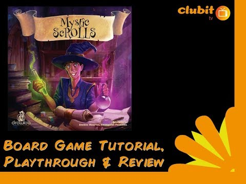 Mystic Scrolls - a fun rapid dice rolling game.