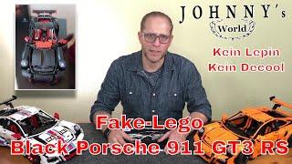 Fake-LegoBlackPorsche911GT3RSnichtLepinoderDecool-UnboxingundersterEindruck
